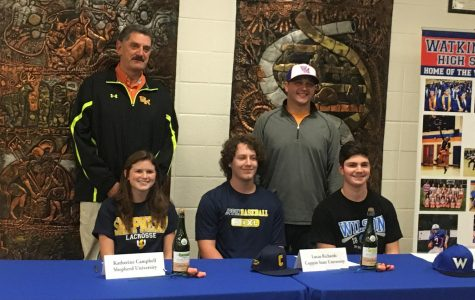 Seniors sign NCAA Letter of Intent, commit to colleges