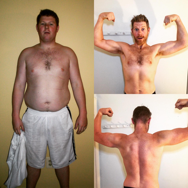 Science teacher Matt Johnson's fitness transformation