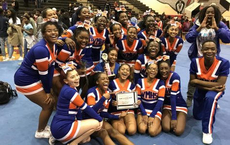 Cheer team crushes competition, ends fall season on high note