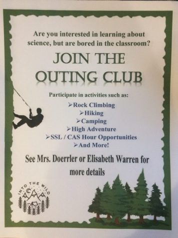 Outing Club takes students into great outdoors to explore nature