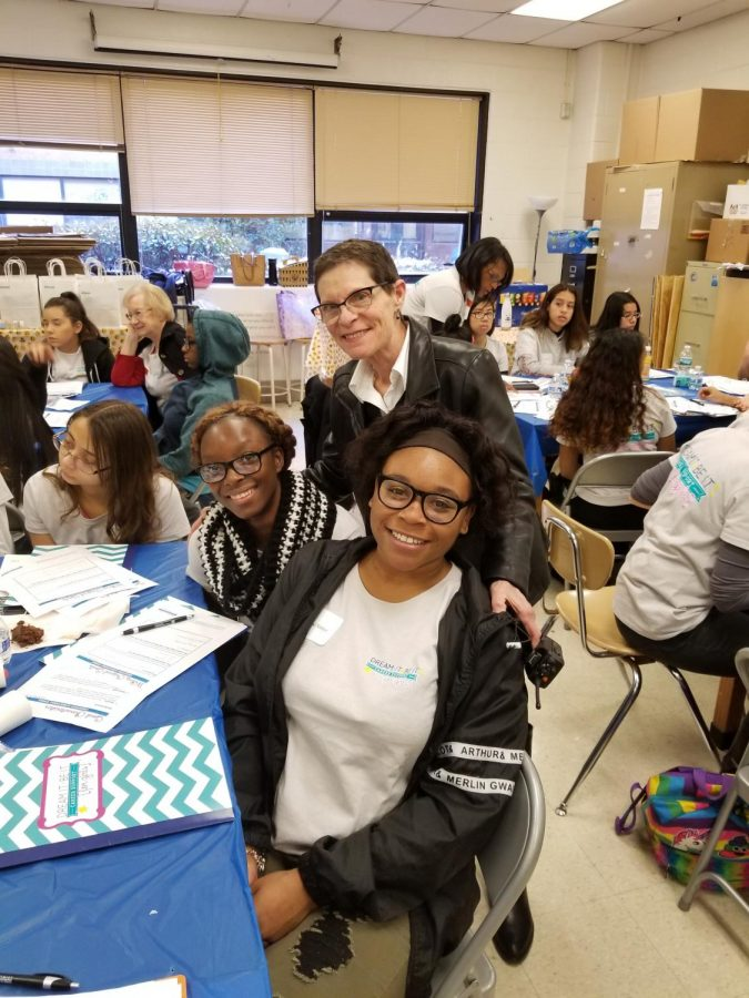 Principal+Carol+Goddard+with+two+girls+that+attended+the+%22Dream+It+Be+It%3A+Career+Support+for+Girls%22+program.+