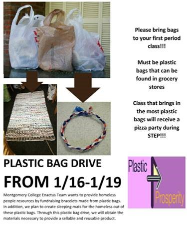 'Plastic for Prosperity' project hopes to bring joy to the less fortunate in our area