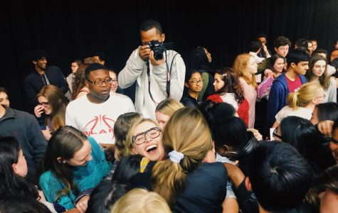 Marjory Stoneman Douglas High School survivors speak to MCPS students at Blair High School