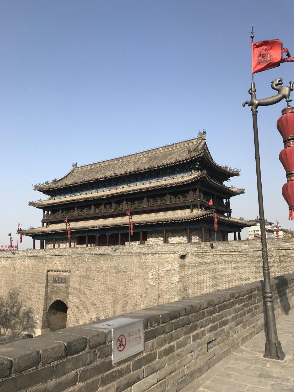 Xi%27an+city+wall+drum+tower%2C+Xi%27an+China