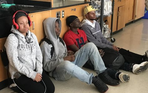 Active-shooter drill between classes helps prepare students for emergencies