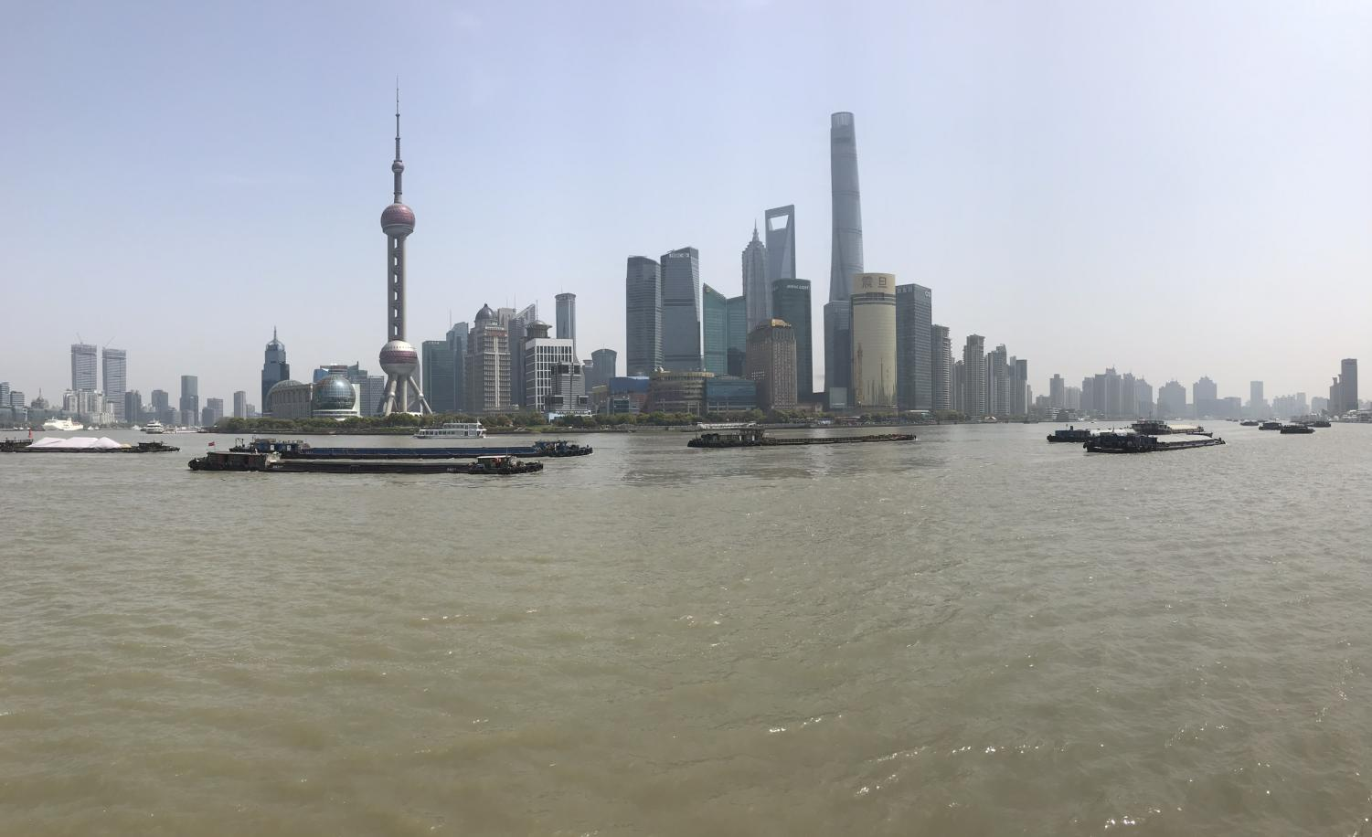 View+of+Shanghai+from+The+Bund