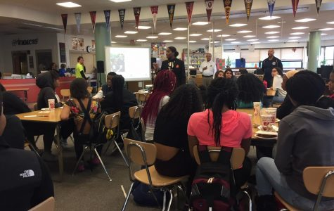 National Organization of Black Law Enforcement Executives hold workshop with Watkins Mill students
