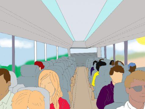 Don't be a bus hog, follow this public transportation advice instead