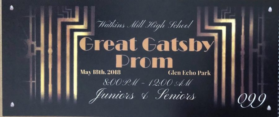 A Ticket To The 2018 Junior2Fsenior Prom