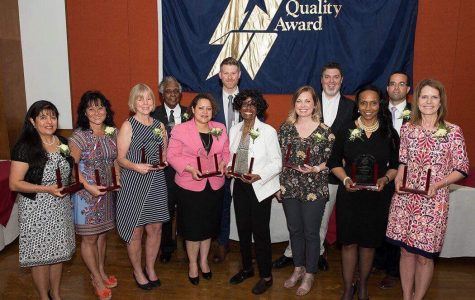 Johnson recognized with BOE Distinguished Service Award