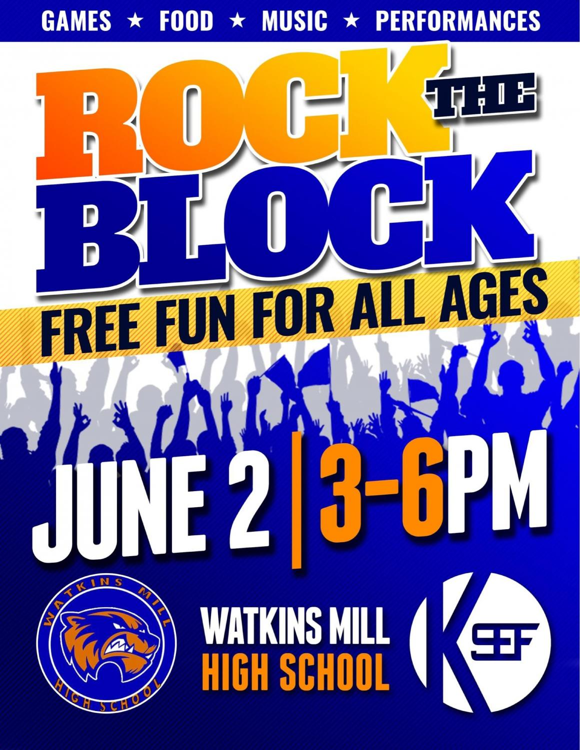 Rock the Block flyer
