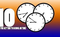 Tired of running late? Ten tips to get to school on time