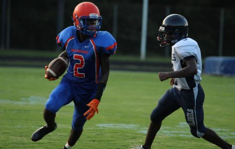 JV football trumps Colonels in 28-8 win