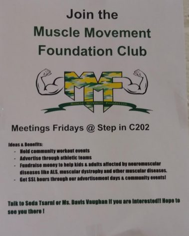 Muscle Movement Foundation club seeks to work out, give back to the community