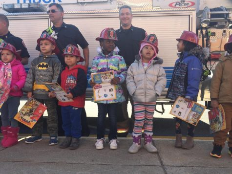 Video: Child Development plays with fire… trucks