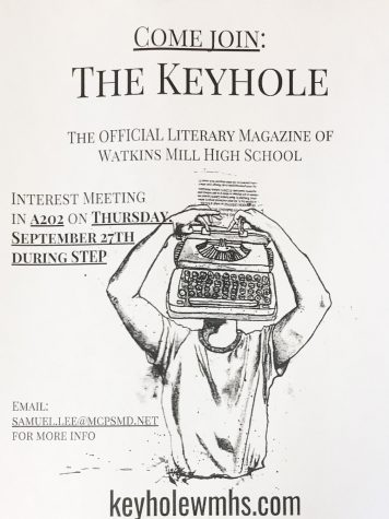 Peeking through The Keyhole: WMHS's literary magazine