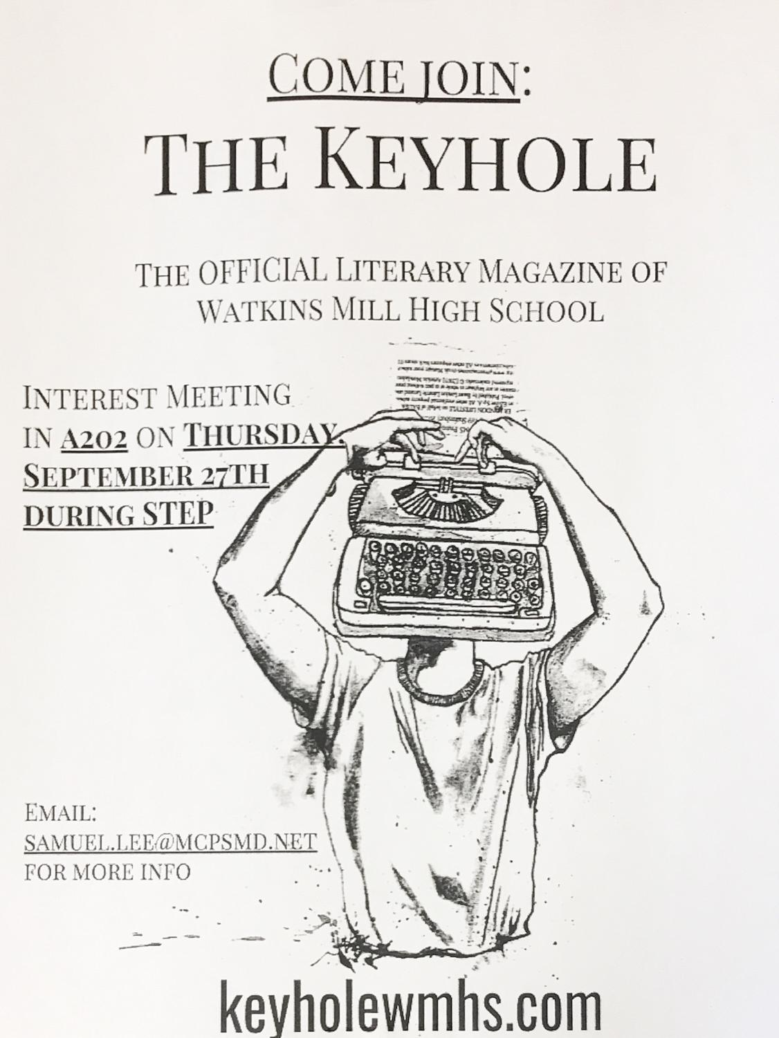 They Keyhole's official poster