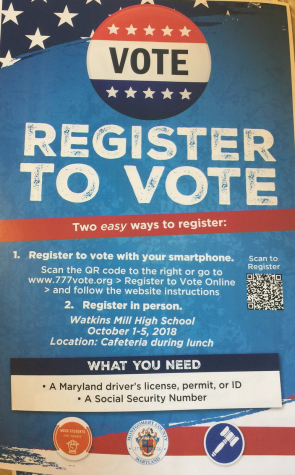 Voter registration drive helps students prepare for Election Day