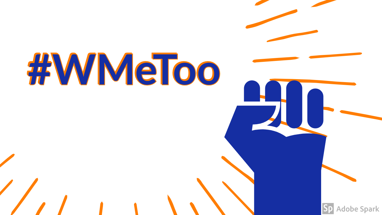 Sexual assault is all too prevalent. Share your stories and give advice with #WMeToo on social media.