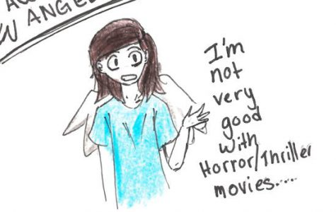 Awkward Angel: Scary movies