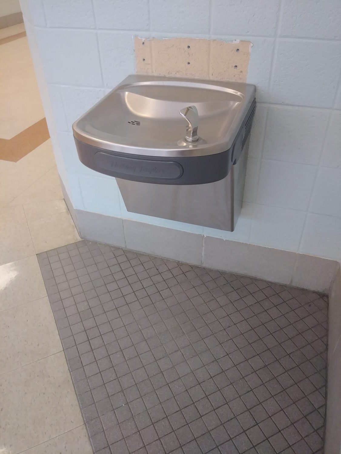 The  current water fountains at Watkins Mill High School