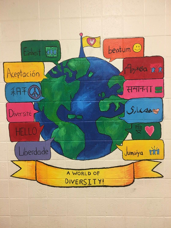 Mural promoting diversity