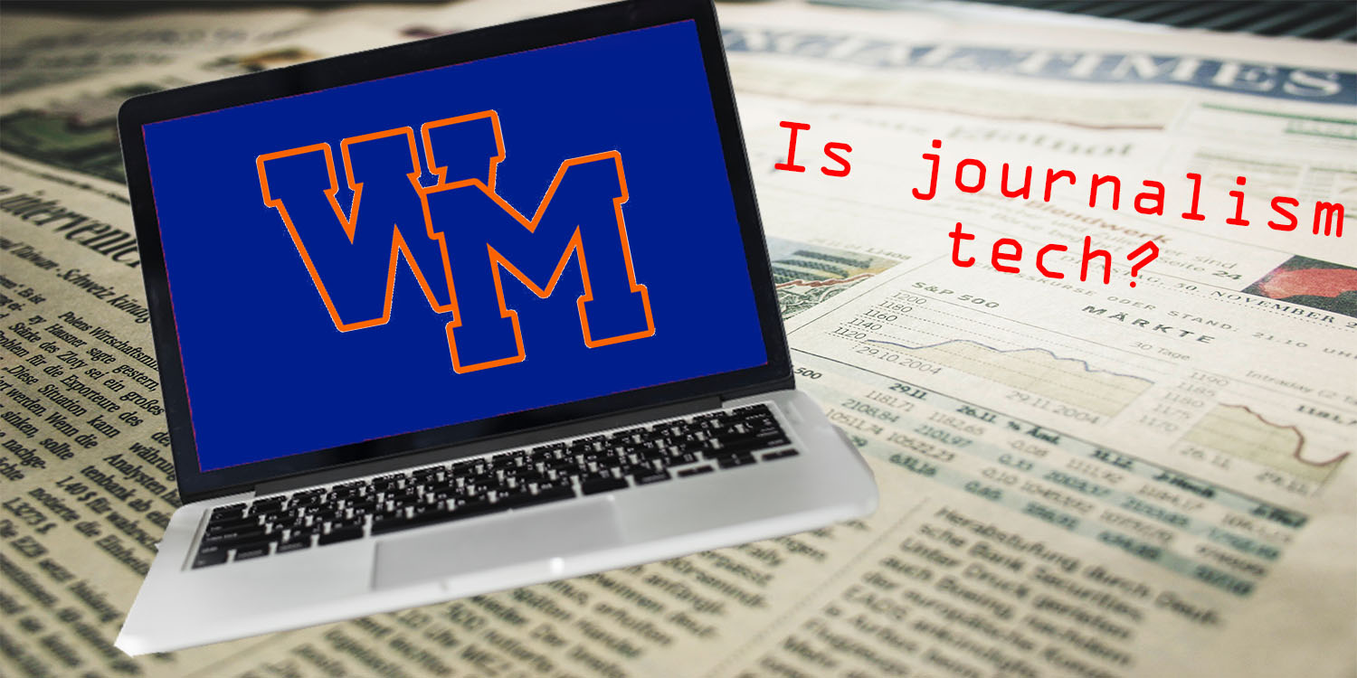 MCPS does not consider journalism a technology course.  Our website begs to differ.