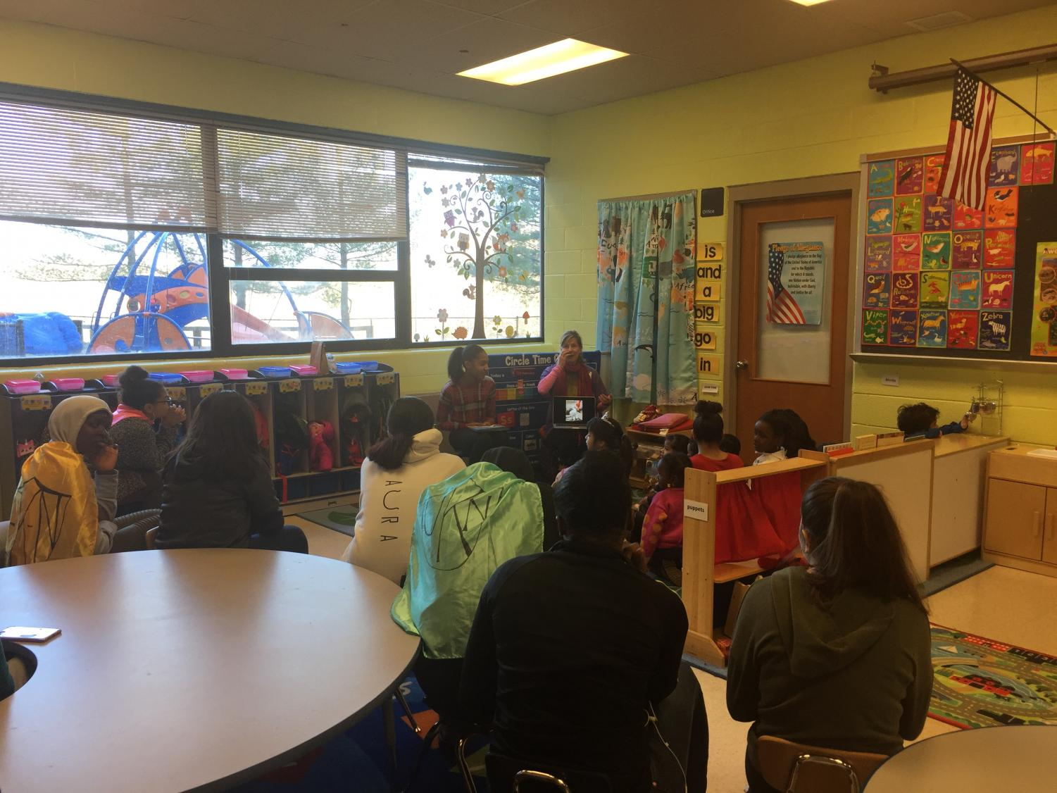 The+child+Deve+program+at+WMHS+gets+a+visit+from+author+Kat+Kronenburg+to+talk+about+her+books+and+stories+from+her+travels