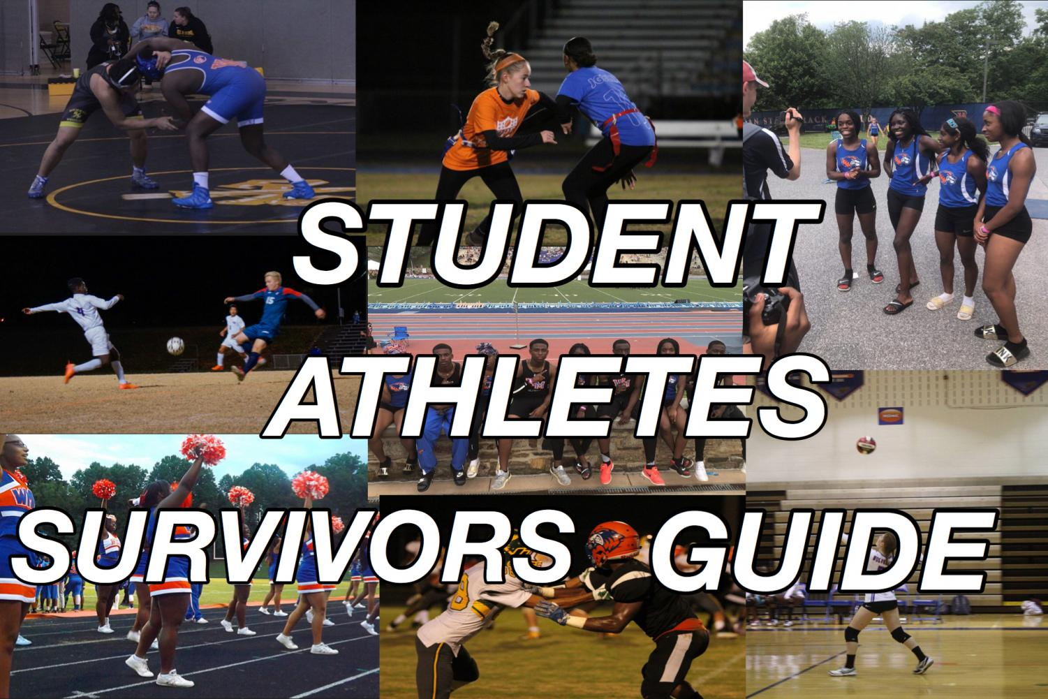 Student athletes face a lot of challenges, but Amelia's Burton's guide can help them stay on track.