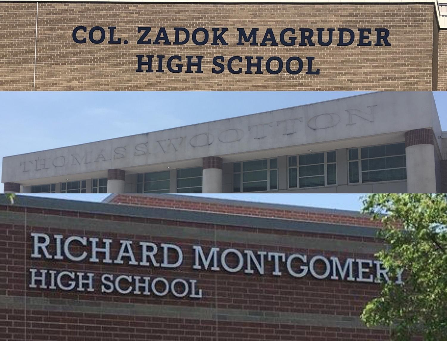 Three Montgomery County Public Schools high schools are named after white, slave-owning men.  It is time for MCPS to change that.