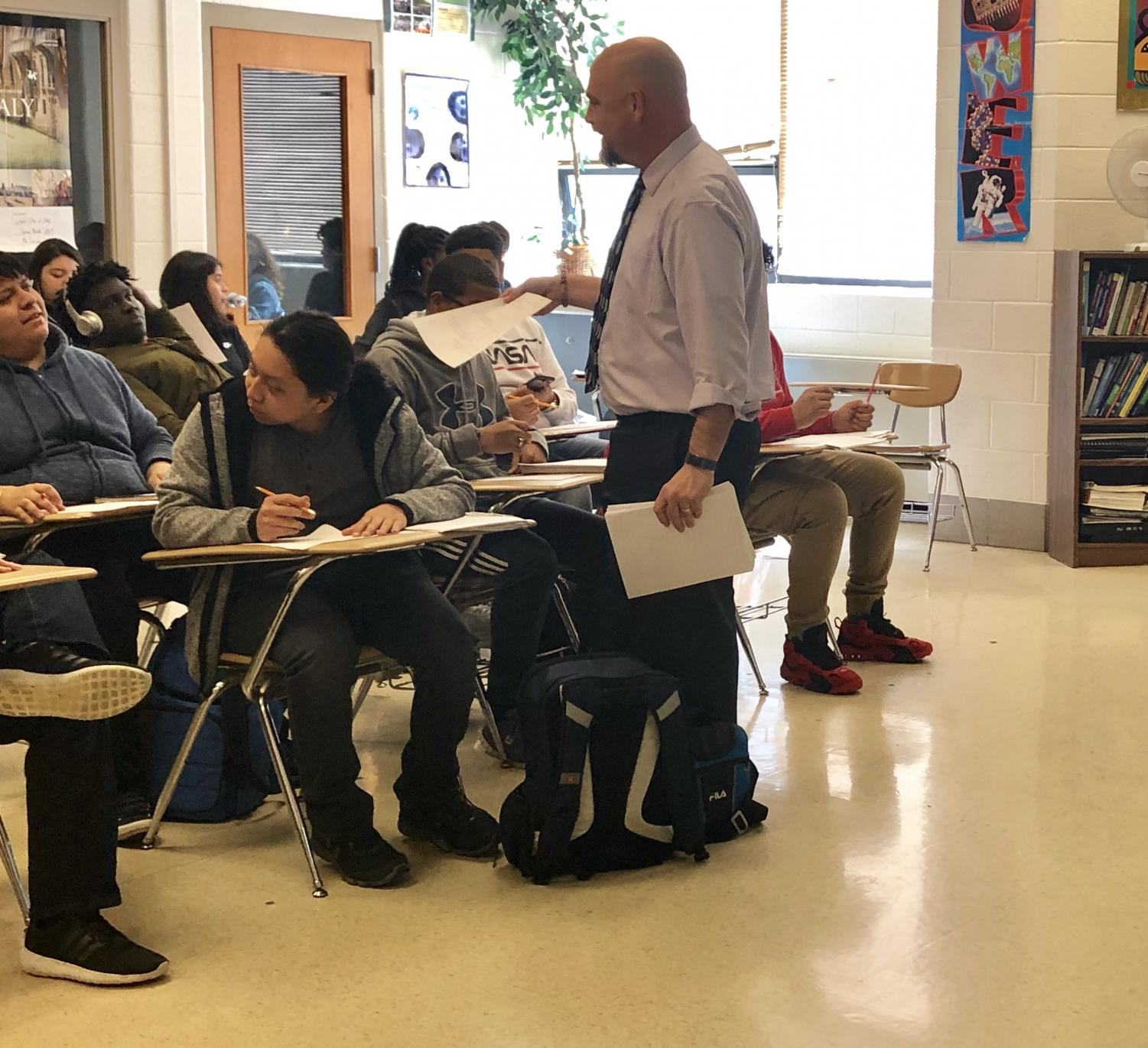 Social studies teacher Will Funk doesn't have problems controlling his classes--he learned how to manage behavior while working at a juvenile correctional facility