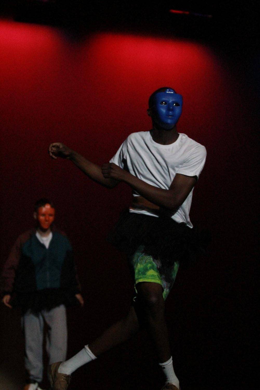 Senior+Joseph+Kamara+rocking+his+dance+during+the+talent+section+of+Mr.+Watkins+Mill.
