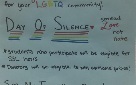 Students participate in National Day of Silence, raise funds for float in Pride Parade