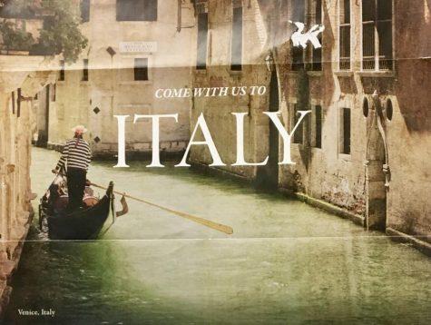 Juniors, seniors prepare to spend spring break in Italy