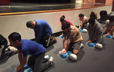 Photo feature: IB Sport and Health students become CPR certified thanks to fundraising efforts