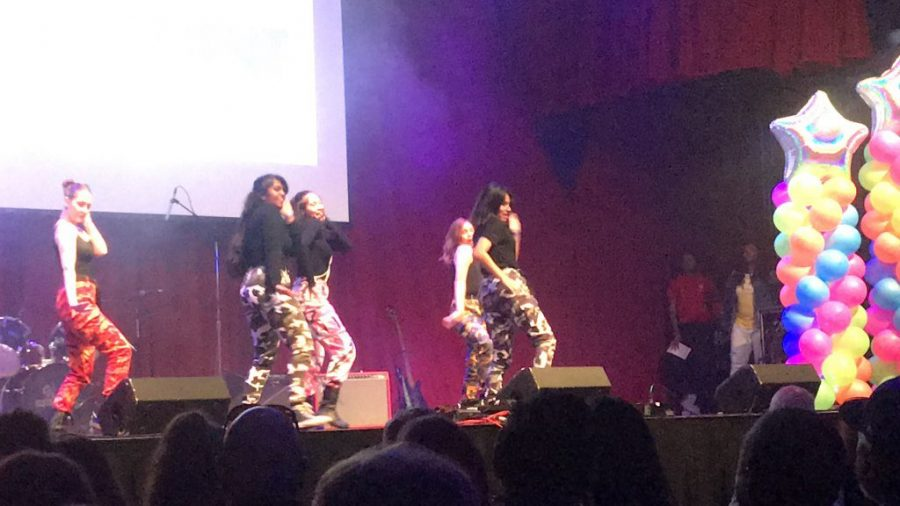 NOVA dance team performing to a K-Pop song by BLACKPINK at MoCo's Got Talent.