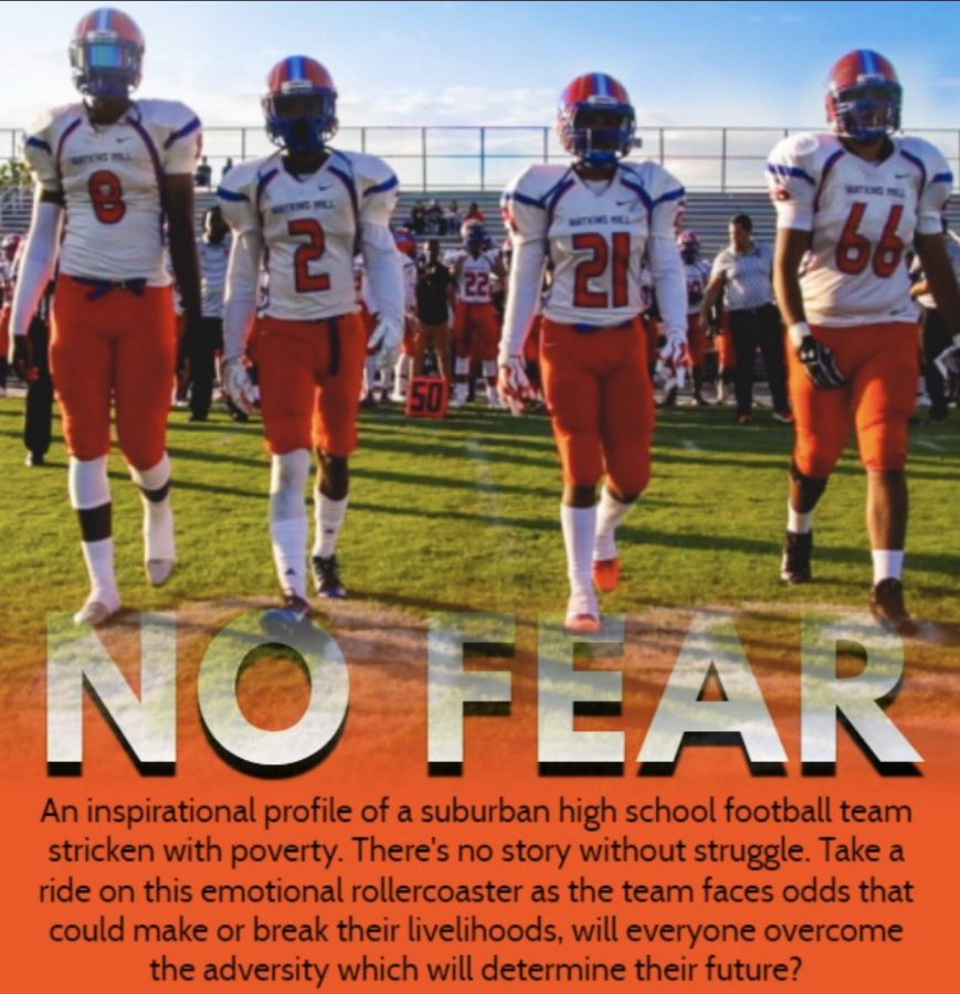 The documentary No Fear premiered at Watkins Mill High School on May 24 and documented the journey of the WMHS football team.
