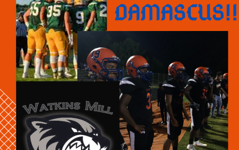 This week in sports wrap ups ends with tonight's football game against Damascus High School.