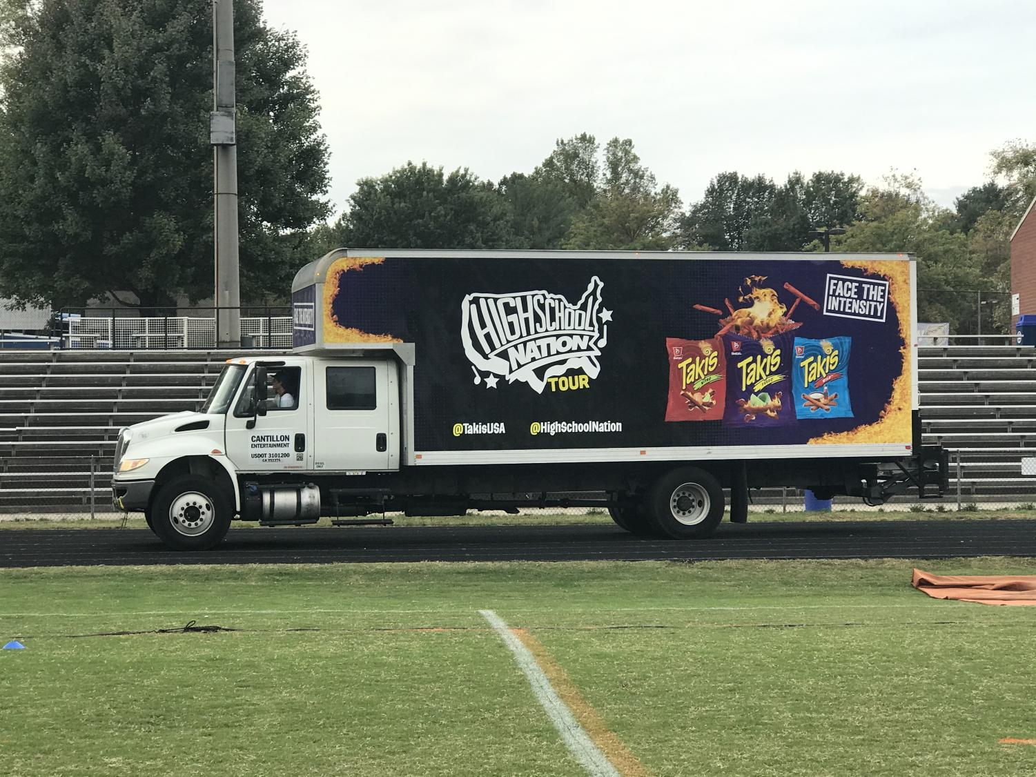 California-based company High School Nation has partnered with Hollister, Takis, Sparkling Ice, and multiple other companies to bring music experiences to students across the nation.