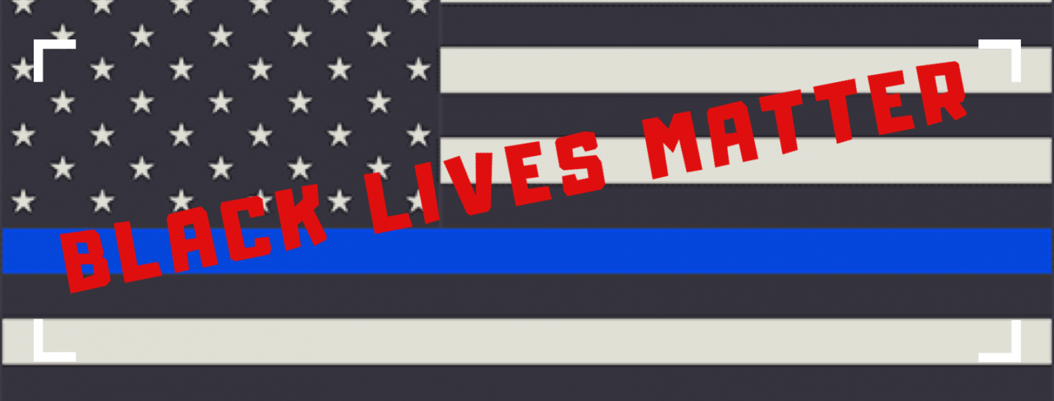 Black Lives Matter is a movement with the intent of educating people on the issues faced by people of color. The Blue Lives Matter flag is a rebuttal to this movement and is in the wrong for turning a blind eye to the issue at hand.