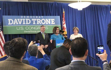 Rep. Trone brings Speaker Pelosi to Gaithersburg for fundraiser