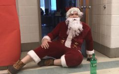 Video: Santa Tyler returns and brings Mrs. Claus to Watkins Mill