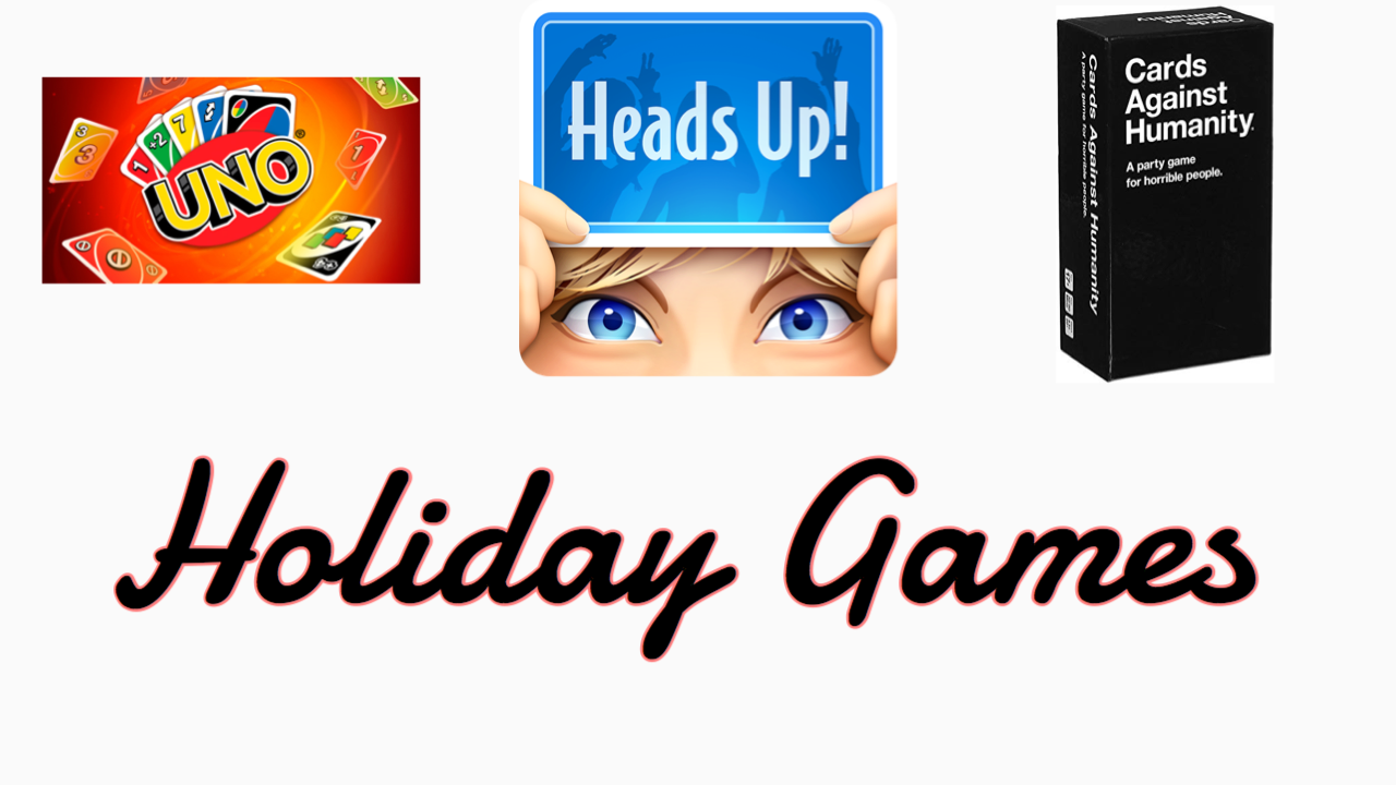 How to make the holidays more fun? Play games with your family!