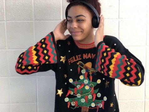 Senior Nakyia Middleton gets into the holiday spirit by listing her favorite Christmas songs