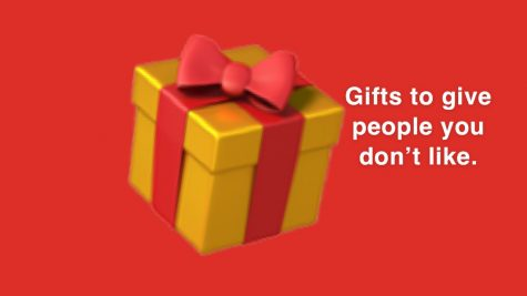 What to give those people who you need a gift for, but who you'd rather not be around?