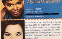 ArtSpeak! returns to WMHS tomorrow with LaChanze, Alysha Umphress