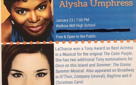 ArtSpeak! returns to WMHS tomorrow with LaChanze, Alysha Umphress