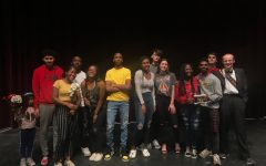 The contestants and escorts of the 2020 Mr. Watkins Mill pageant.