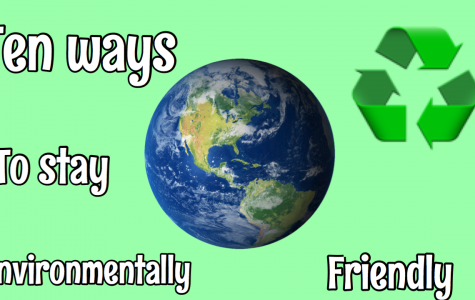 Ten ways to stay environmentally friendly