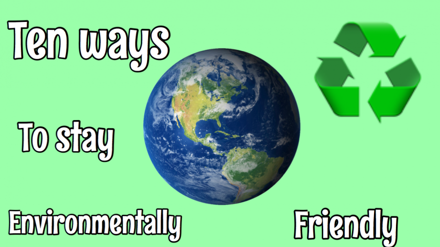 Looking for a way to be more environmentally friendly? Here are ten tips to get you started!